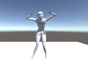 blenderでボーンを入れる方法【humanoid】